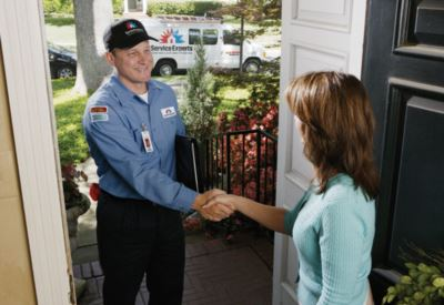 in-home estimate from Fras-Air/General Service Experts Heating & Air Conditioning